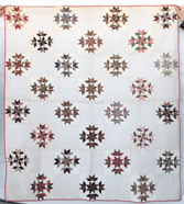 FINE EARLY PIECED QUILT