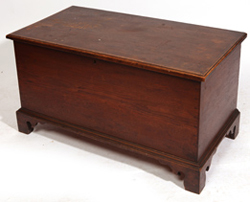 LATE 18TH CENTURY WALNUT BLANKET CHEST
