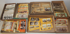 LARGE LOT OF STEREOVIEWS