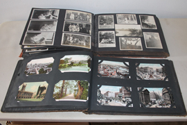 UNSEARCHED POSTCARD ALBUMS