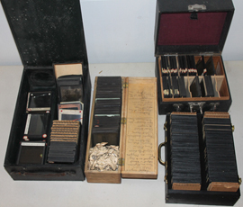 LARGE LOTS OF GLASS SLIDES