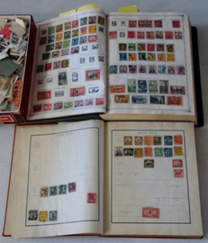 25 ALBUMS OF STAMPS