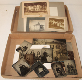 TINTYPES & CABINET CARDS