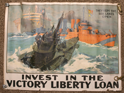 ICONIC THEY KEPT THE SEA LANES OPEN WWI FULL SHEET POSTER