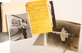 FORD WILLIAM RUN PLANT DOCUMENTS ON B-24 LIBERATOR BOMBER PRODUCTION