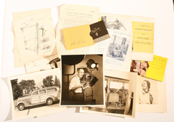 GROUP OF EARLY PACKARD AUTO ADVERTISING & PATENTS