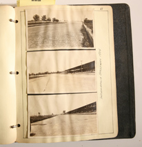 1924 PHOTO ALBUM OF INDY SPEEDWAY
