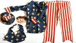 EARLY UNCLE SAM COSTUME