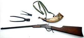 Rifle & Powder Horn