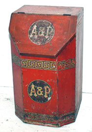 A & P Coffee Box