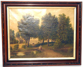 Country Scene Oil Painting