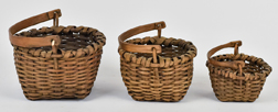 Three Taconic Bushwacker Baskets