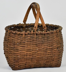 Double Swing Handled Taconic Bushwacker Baskets