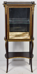 French Ormalu Mounted Curio Cabinet