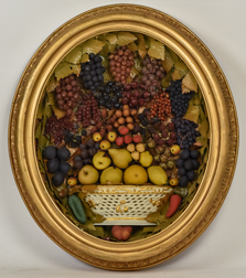 Victorian Shadow Box Fruit Basket