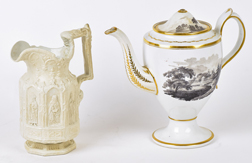 18th Century English Teapot Plus