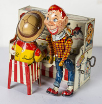 HOWDY DOODY BAND WINDUP TIN TOY