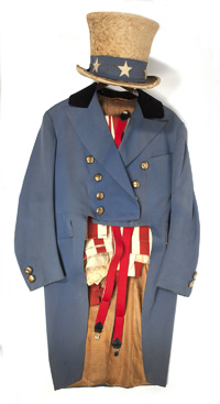 JAMES MONTGOMERY FLAGG'S UNCLE SAM SUIT & HAT