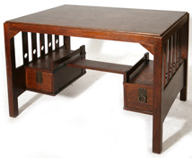 STICKLEY BROS. ATTRIBUTION LIBRARY TABLE