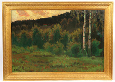 PAUL PETRI EARLY 20TH CENTURY OIL PAINTING
