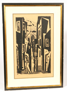 VICTOR REBUFFO (ARGENTINA/ITALY) LITHOGRAPH