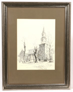 VERNON HOWE BAILEY (NEW YORK/NEW JERSEY) DRAWING
