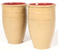 PR. OF ROOKWOOD POTTERY VASES