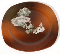 ROOKWOOD POTTERY PLATE BY MATT DALY