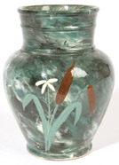CINCINNATI ART POTTERY CLUB LIMOGE VASE