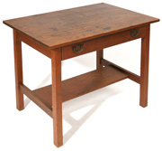 GUSTAV STICKLEY LIBRARY TABLE #650