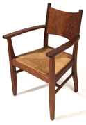 VOYSEY STYLE ARTS & CRAFTS ARM CHAIR