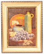 SIGNED 20TH CENTURY STILL LIFE OIL PAINTING ON PANEL