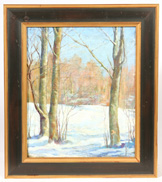 SIGNED D.D. ANDREZZI OIL PAINTING