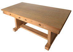 PRAIRIE SCHOOL LIBRARY TABLE