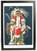 "KEVIN RED STAR ""RUNNING RABBIT"" (MT/NM, 20TH CENTURY) LITHOGRAPH"