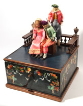 German 3-Figure Musical Automaton