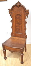 Musical Walnut Victorian Chair