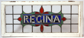 Regina Stained & Leaded Glass Window