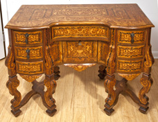 19th Century Marquetry Desk
