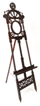 Cherry Victorian Stick and Ball Easel