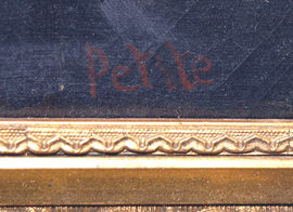 SIGNATURE TO PAINTINGS