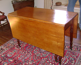 Cherry Drop Leaf Table