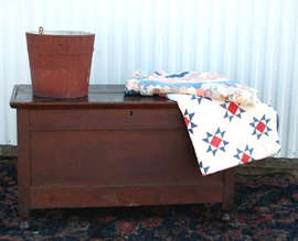 Early Cherry Blanket Chest