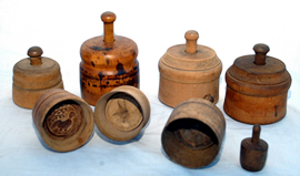 Early Wooden Butter Molds