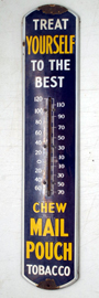 Mail Pouch Advertising Thermometer
