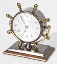 Abercrombie & Fitch Chelsea Ships Desk Clock