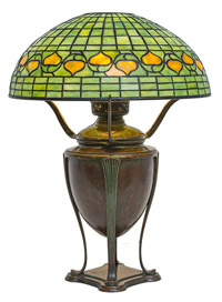 Tiffany Leaded Glass Table Lamp