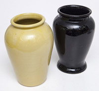 Two Large Zanesville Pottery Co. Vases