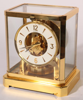 LECOULTRE ATMOS BRASS SHELF CLOCK