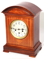 JUNGHANS INLAID CHIMING SHELF CLOCK